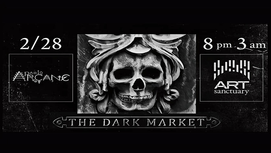 Radio Arcane w/Justin Carver of Something Cold + The Dark Market